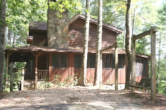 4 BEDROOM 5 BATH MOUNTAIN HOME FOR SALE AT BARGIN PRICE IN WESTERN NORTH CAROLINA