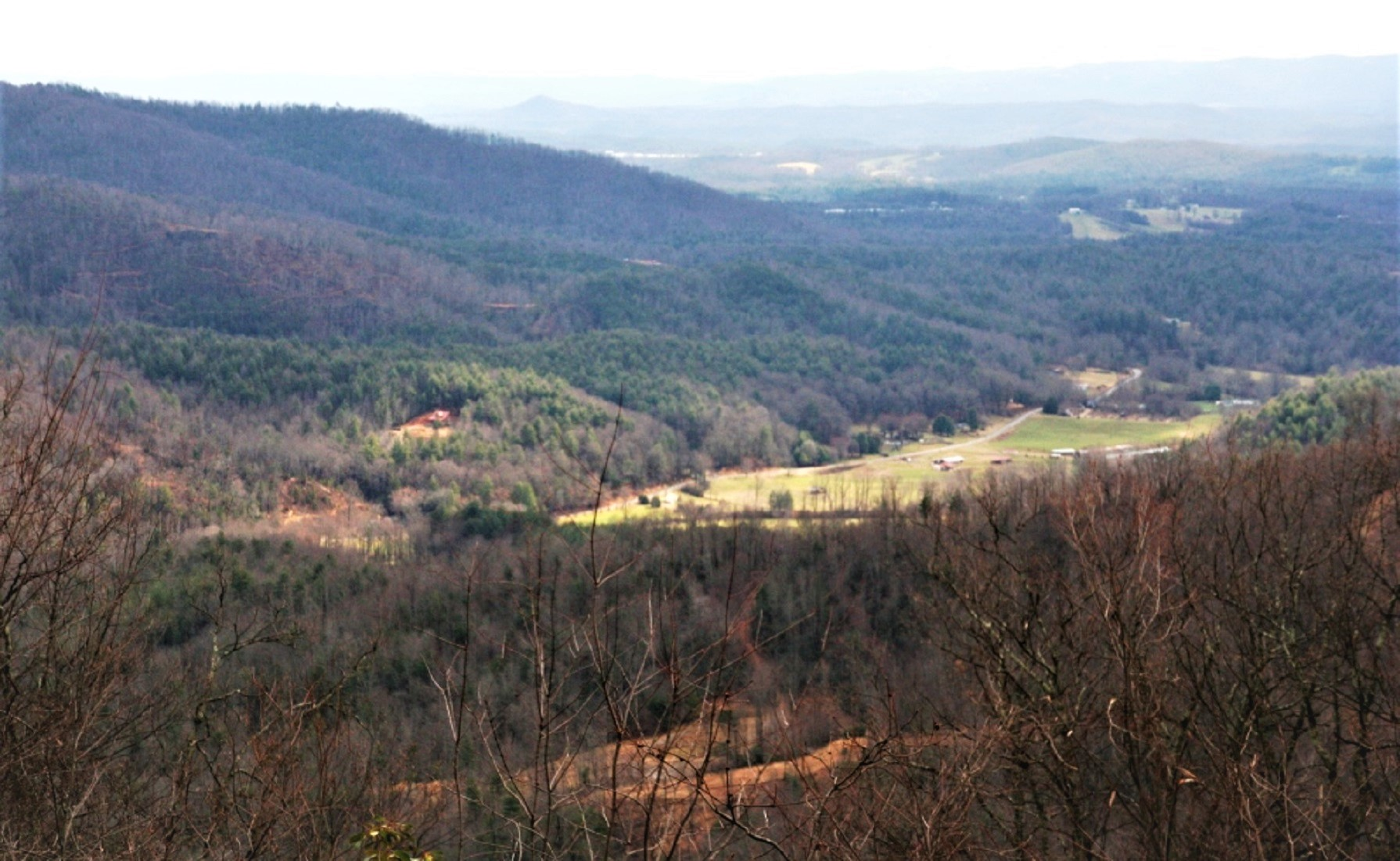 LEATHERWOOD MOUNTAIN LAND TRACT #72 WITH LONG RANGE VIEWS FOR SALE